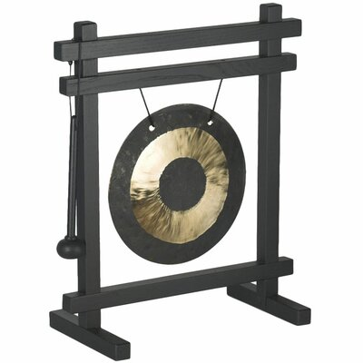 "<strong>Oriental Furniture</strong> 12"" Zen Desk Gong"