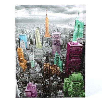 High-Lights of New York Skyline Graphic Art on Canvas