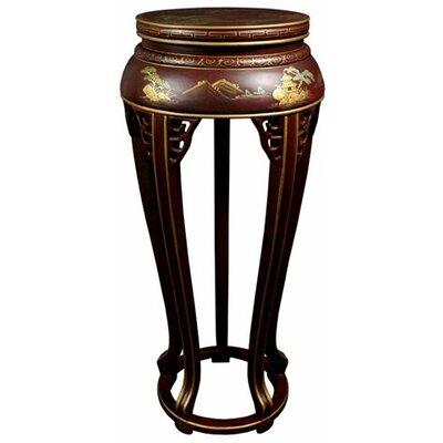 Oriental Furniture Pedestal Plant Stand
