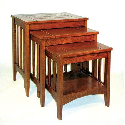 Oriental Furniture Hugo 3 Piece Nesting Tables