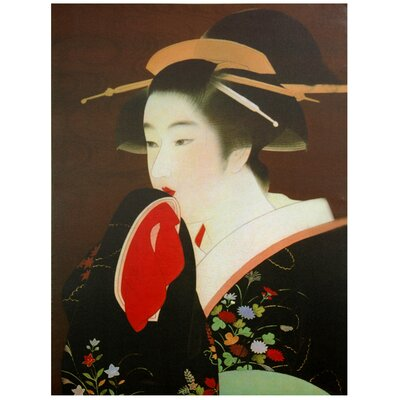 Geisha Painting Print on Canvas