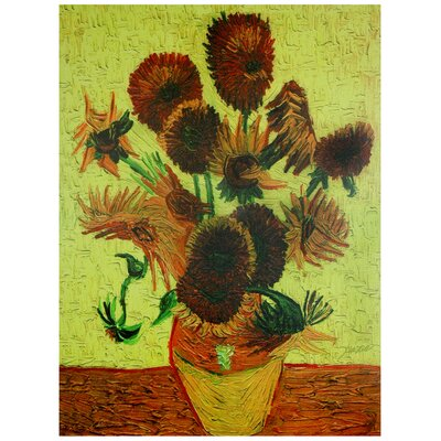 Sunflowers Canvas Wall Art - 23.5