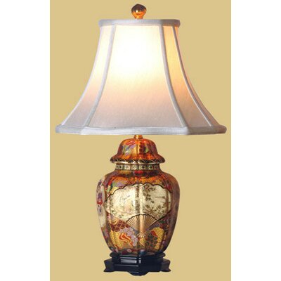 Oriental Furniture Satsuma Jar Table Lamp