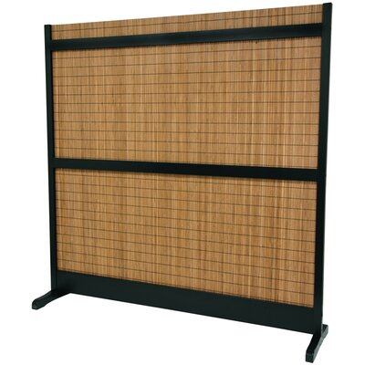 Oriental Furniture 6 1/4 Feet Tall Take Room Divider in Black