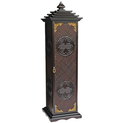 Oriental Furniture Pagoda Multimedia Cabinet