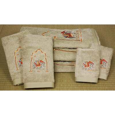 Majestic Elephant 7 Piece Towel Set