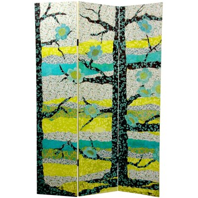 Sylvan Collage Canvas Room Divider
