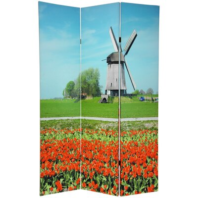 Double Sided Windmills Room Divider