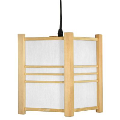 Oriental Furniture Japanese Genki Hanging Lantern