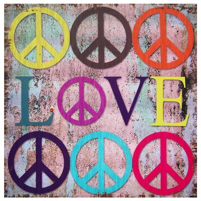 Love Canvas Wall Art - 19.75