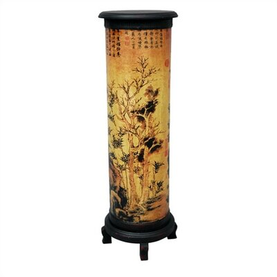 Oriental Furniture Branch of Life Pedestal Plant Stand