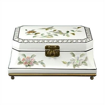 Oriental Furniture Adorlee Asian Jewelry Box