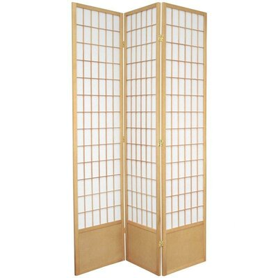 "Oriental Furniture 78"" Window Pane Room Divider"