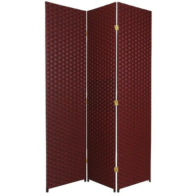 "Oriental Furniture 70.75"" Tall Woven Fiber Room Divider"