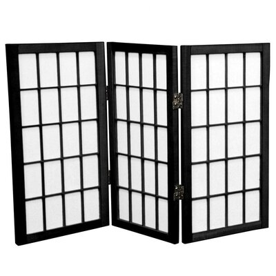 "Oriental Furniture 26"" Shoji Window Pane Room Divider"