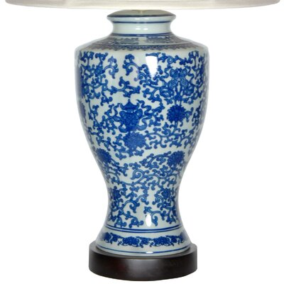 Oriental Furniture Victorian Design Table Lamp