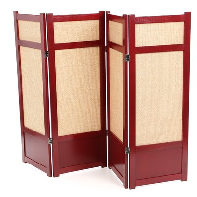 "Oriental Furniture 48"" Low Jute Shoji Room Divider"