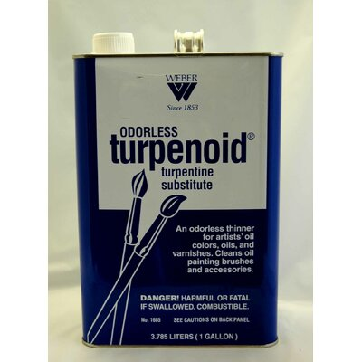 Weber Art ODORLESS TURPENOID GALLON