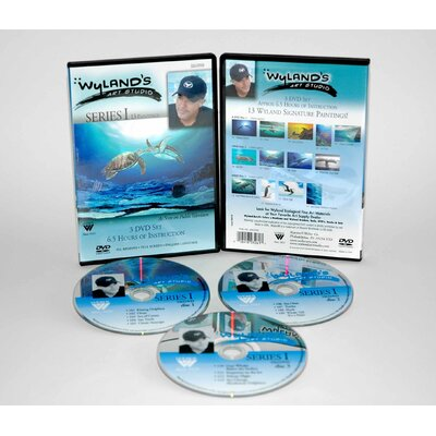 Weber Art WYLAND ART STUDIO DVD 13 EPISODES SERIES 1