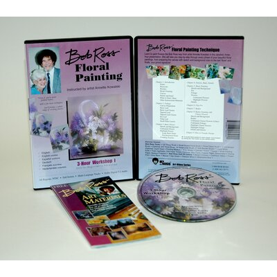 Weber Art ROSS DVD FLORAL PAINTING WORKSHOP I.   3 HOUR