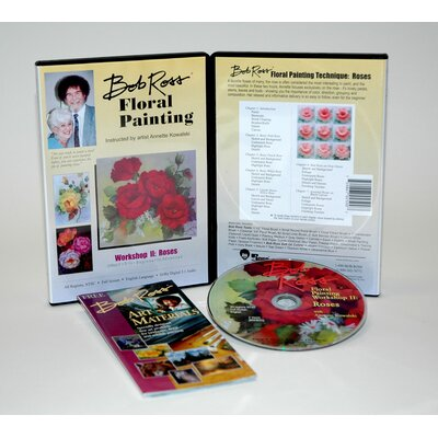 Weber Art ROSS DVD FLORAL PAINTING WORKSHOP II.   2 HOUR