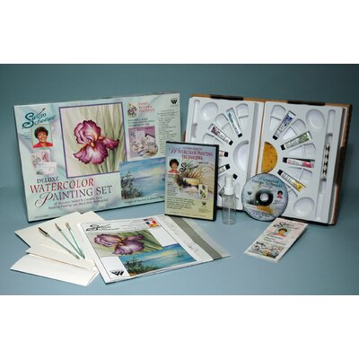 Weber Art SCHEEWE DELUXE WATERCOLOR SET WITH DVD