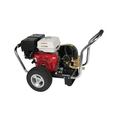 Water Blaster 3200 PSI Cold Water Gas Powered Pressure Washer w/ Honda Engine (Belt Drive) ...