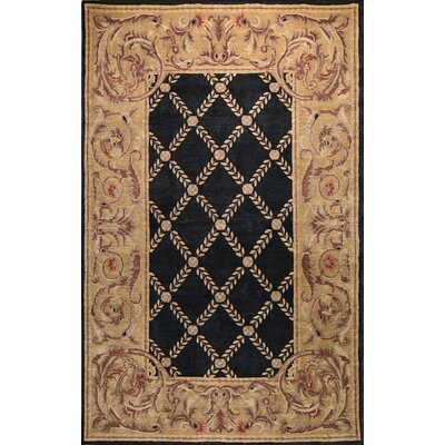 Bashian Rugs Chantilly Chateau Black Rug