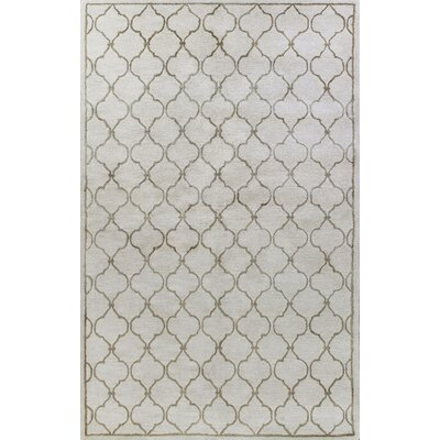 Bashian Rugs Greenwich Lattice Ivory Rug