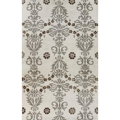 Bashian Rugs Greenwich Cosmic Dance Ivory / Grey Rug