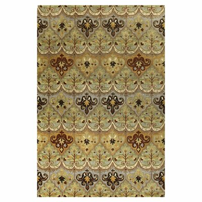 Bashian Rugs Wilshire Light Green Mural Rug