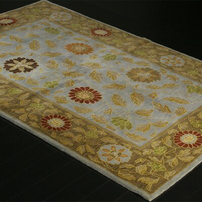 Bashian Rugs Wilshire Ratna Light Blue Rug