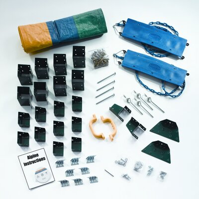 Swing-n-Slide Alpine Custom DIY Play Set Hardware Kit -  Project  613