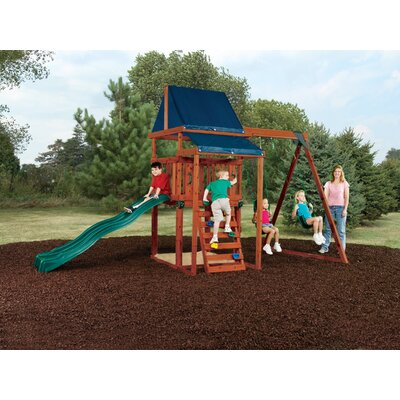 Swing-n-Slide Asheville Wood Complete Play Set