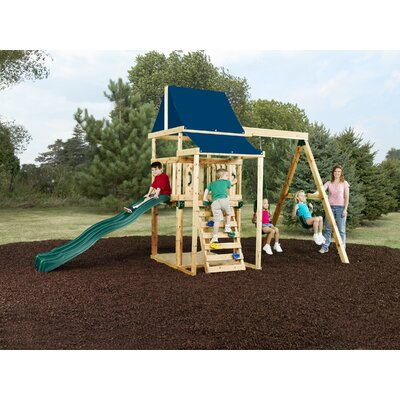 Asheville Wood Swing Set