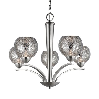 Woodbridge North Bay 5 Light Chandelier