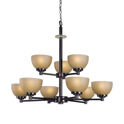 Woodbridge Lighting Ajo 9 Light Chandelier