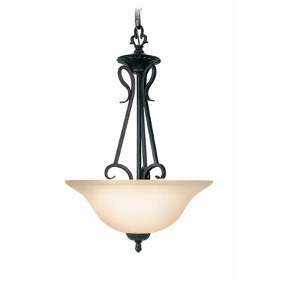 Woodbridge Lighting Jamestown 2 Light Inverted Pendant / Foyer