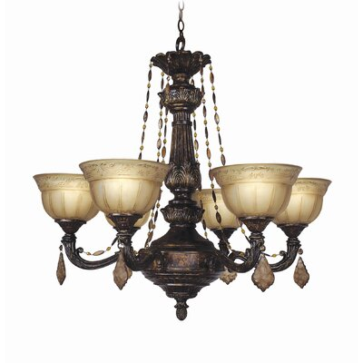 Woodbridge Lighting Lucerne 6 Light Chandelier