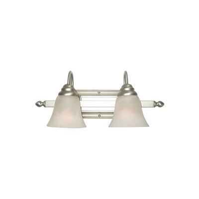 Woodbridge Lighting Basic 2 Light Bath Vanity Light
