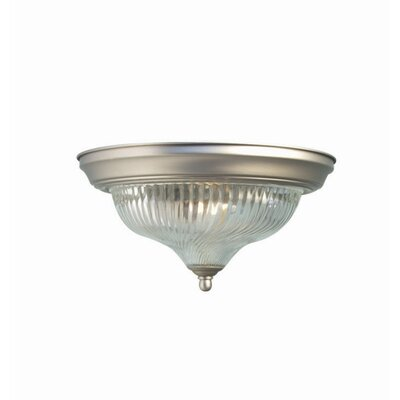 Woodbridge Lighting Basic 1 Light Flush Mount