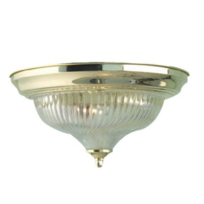 Woodbridge Lighting Interior Complements 1 Light Flush Mount
