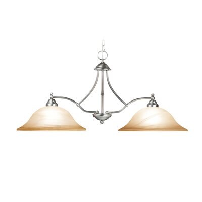 Woodbridge Lighting Anson 2 Light Kitchen Pendant Light