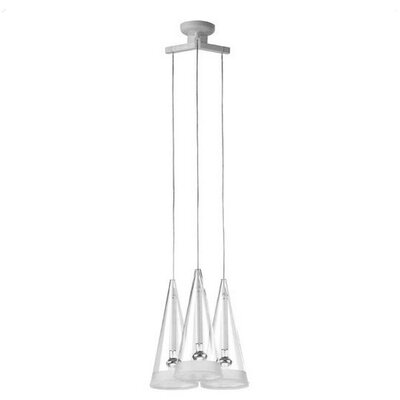 FLOS Fucsia 3 Light Pendant