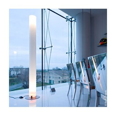 FLOS Stylos Floor Lamp in Silver