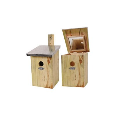 Best For Birds Mirrored Nesting Bird House