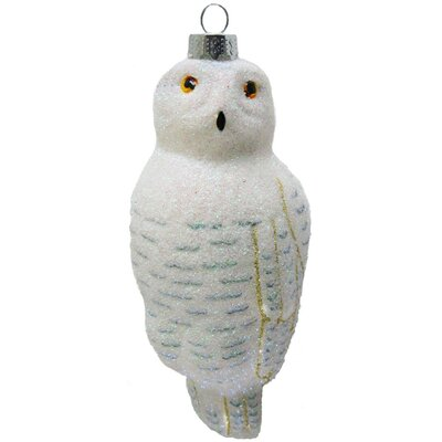 Cobane Studio LLC Snowy Owl Ornament