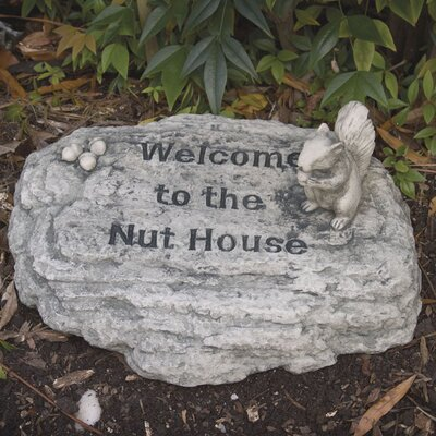 Evergreen Enterprises, Inc Welcome to the Nut House Stepping Stone