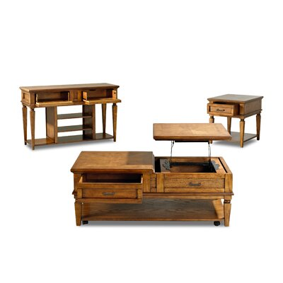 Klaussner Furniture Concord Coffee Table Set