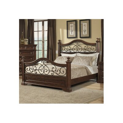 Klaussner Furniture San Marcos Panel Bed